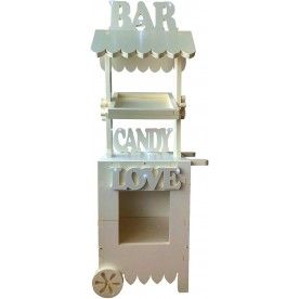 CANDY BAR XL, LETRAS CON...