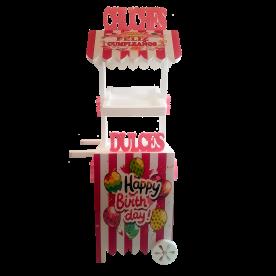 Candy-Cart Cumpleaños Niña